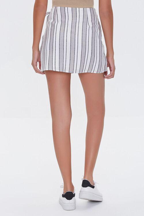 Linen-Blend Striped Skirt, image 4