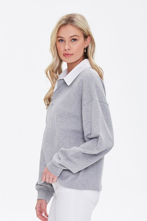 Heathered Rugby Shirt, image 3
