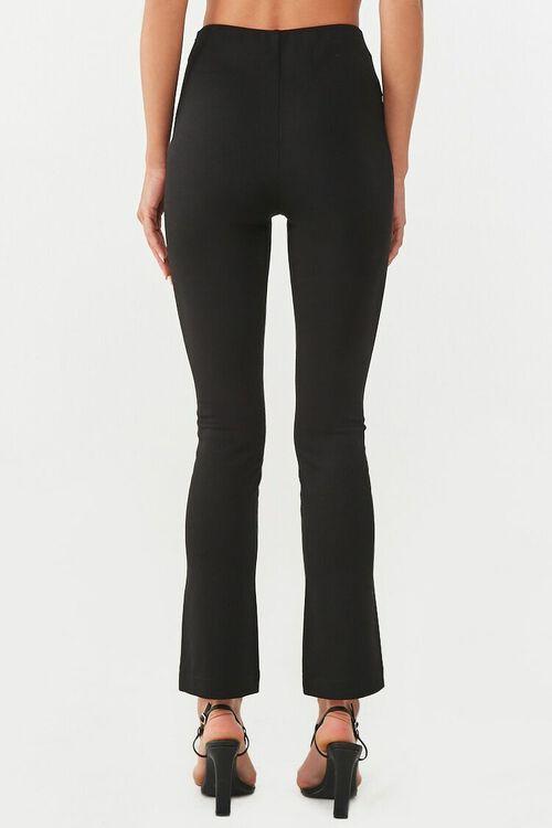 Creased Slit-Hem Pants, image 4