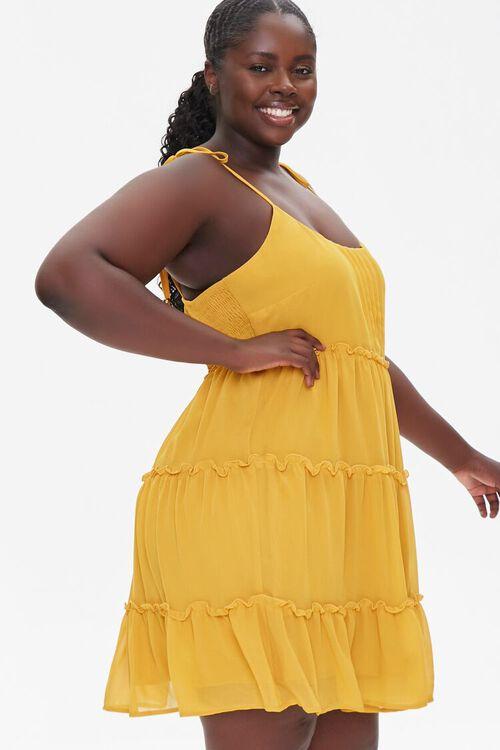 Plus Size Chiffon Cami Dress, image 2