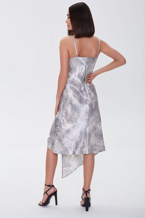 Oil Wash Satin Dress, image 3