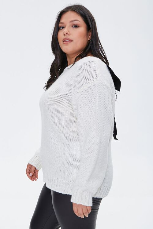 Plus Size Bow Sweater, image 3