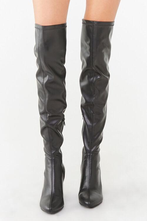 Over-the-Knee Block Heel Boots, image 2