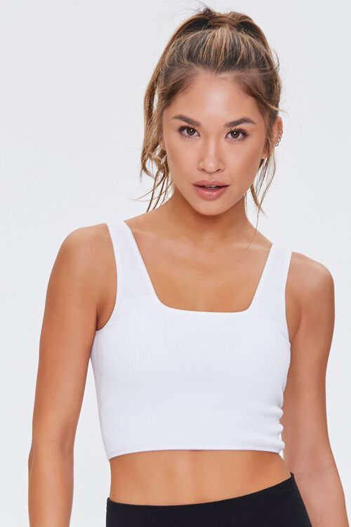 Active Seamless Square Tank Top, image 1