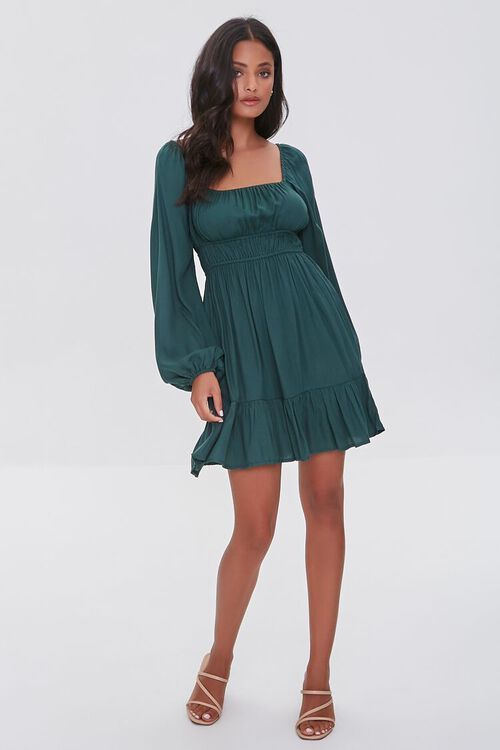 Peasant Mini Dress, image 4