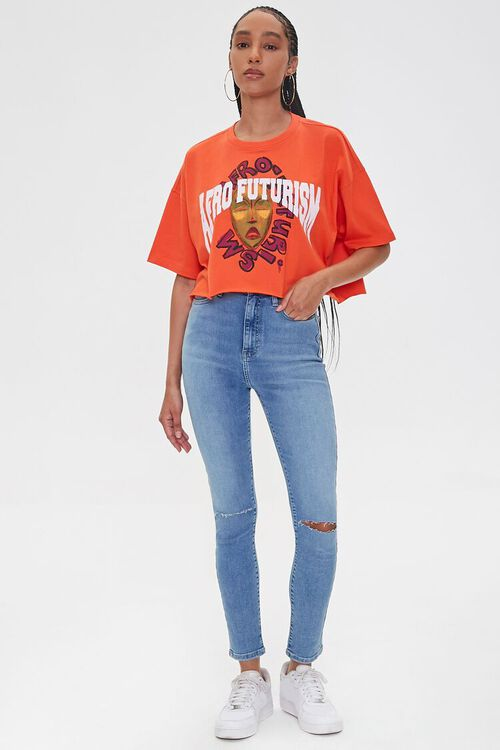 Ashley Walker Afro Futurism Graphic Tee, image 4