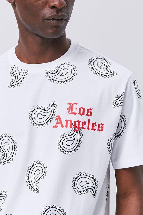Los Angeles Paisley Graphic Tee, image 5