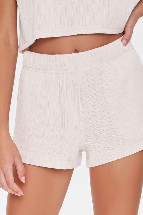Ribbed Drawstring Shorts, image 5
