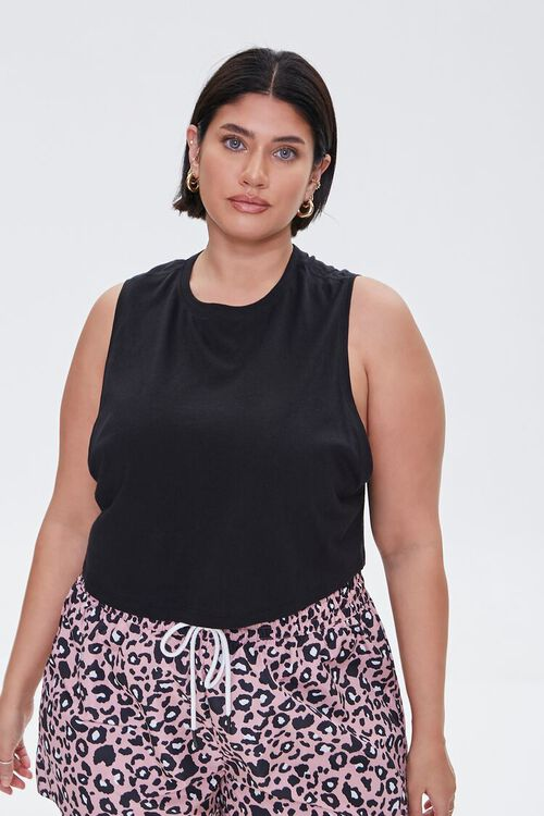 Plus Size Active Muscle Tee, image 1