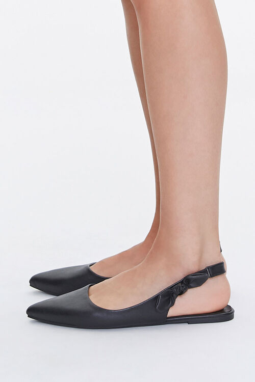 Pointed Slingback Flats, image 2