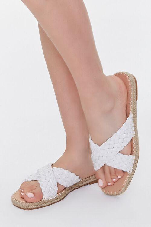 Crisscross Espadrille Flatform Sandals, image 1
