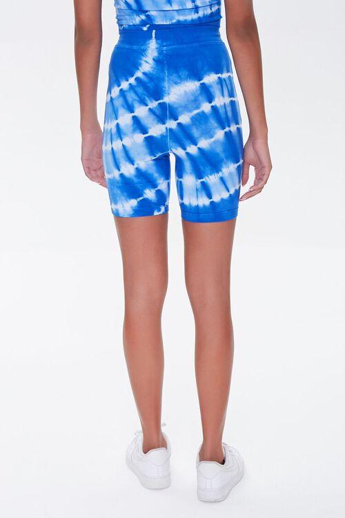 BLUE/WHITE Kendall & Kylie Biker Shorts, image 3