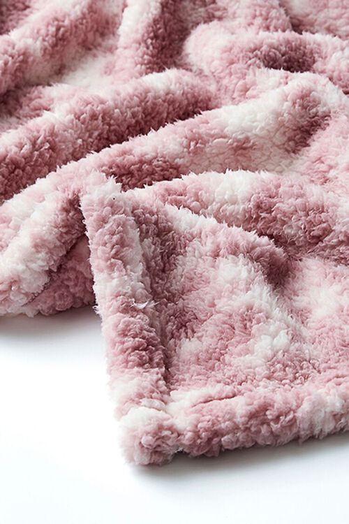 Tie-Dye Faux Shearling Blanket, image 3