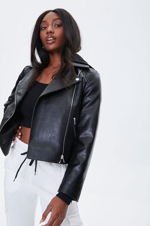 Hooded Moto Jacket, image 1