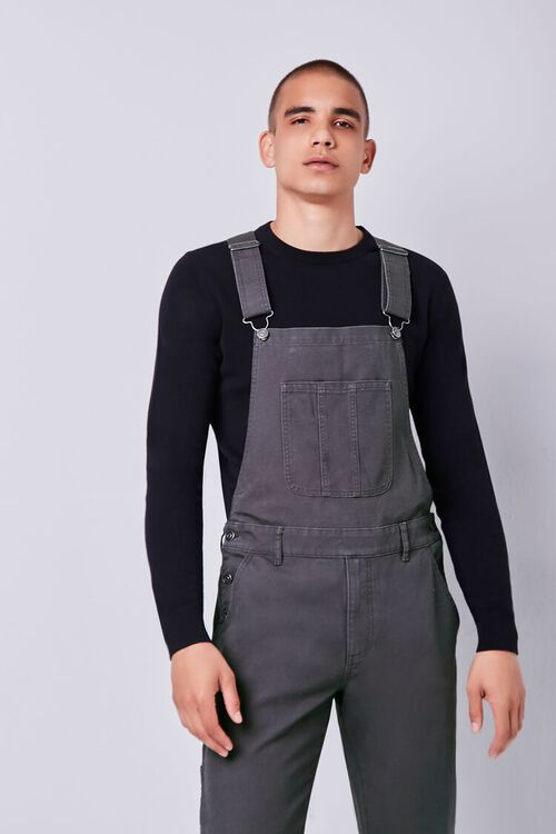 Slim-Fit Utility Overalls, image 1