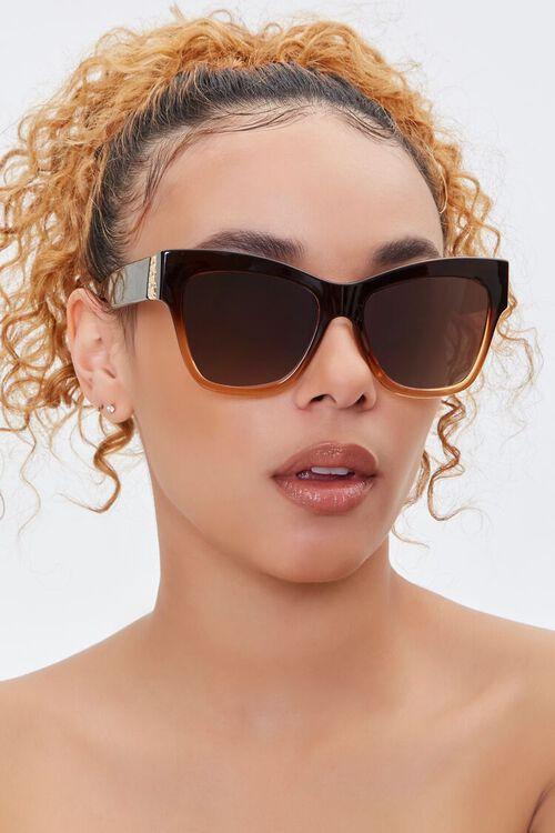 Ornate-Trim Cat-Eye Sunglasses, image 1