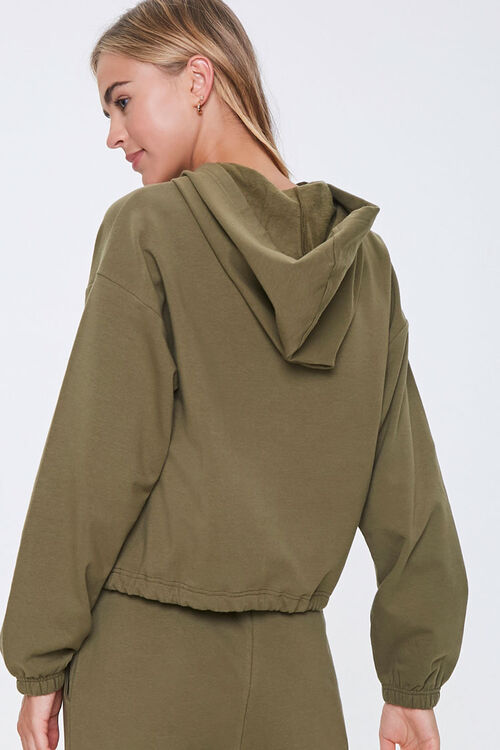 Hooded French Terry Top, image 3