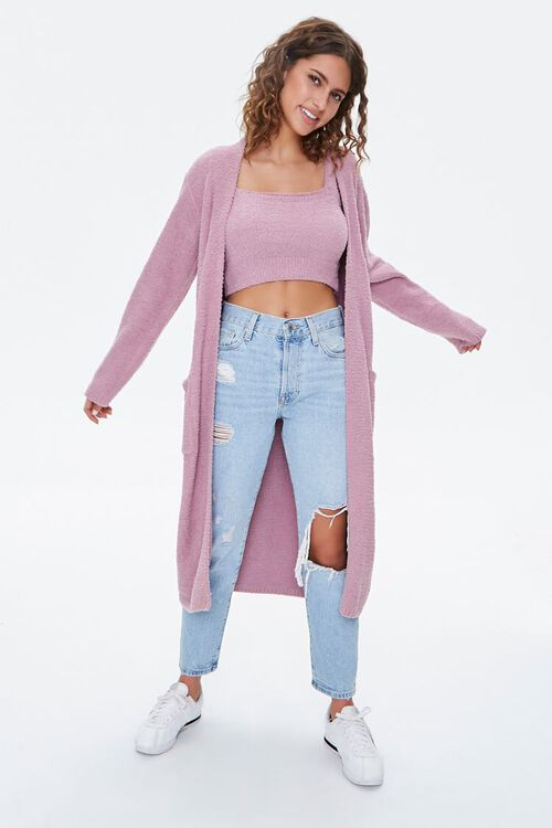Sweater-Knit Crop Top, image 4