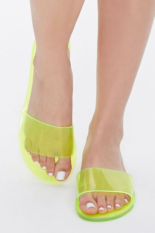 Semi-Transparent Jelly Sandals, image 4