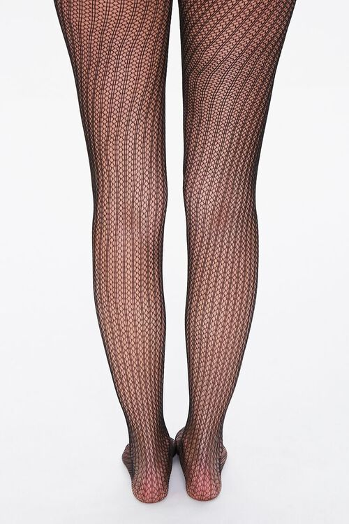 Stripped Netted Tights, image 3