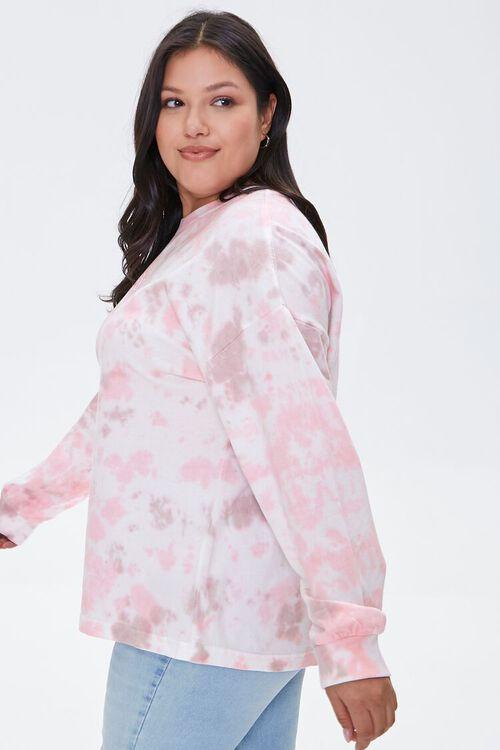 Plus Size Tie-Dye Wash Top, image 2