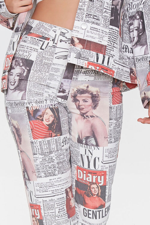 Marilyn Monroe Cropped Jeans, image 5