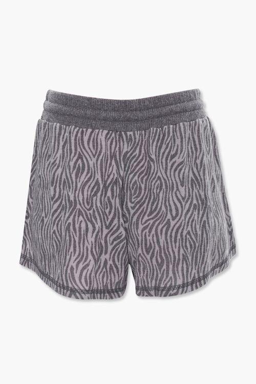 Tiger Stripe Print Shorts, image 3