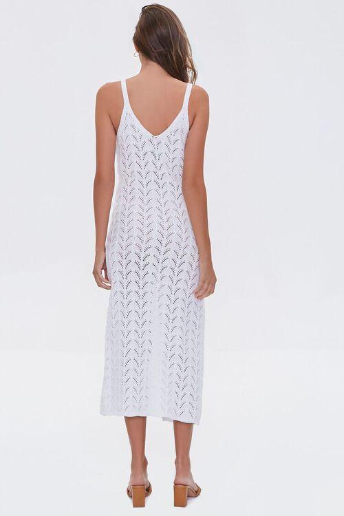 Pointelle Knit Midi Dress, image 3