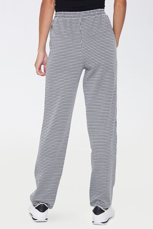 Houndstooth Wide-Leg Pants, image 4