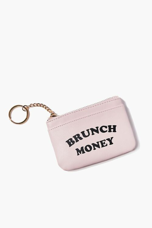 Brunch Money Graphic Coin Purse, image 1