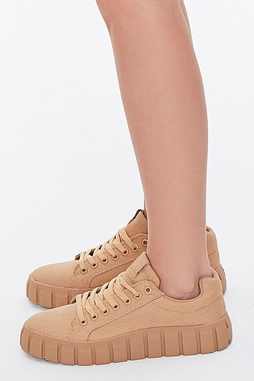 Low-Top Canvas Sneakers, image 2