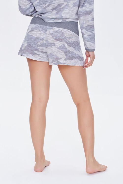 Camo Print Pajama Shorts, image 4