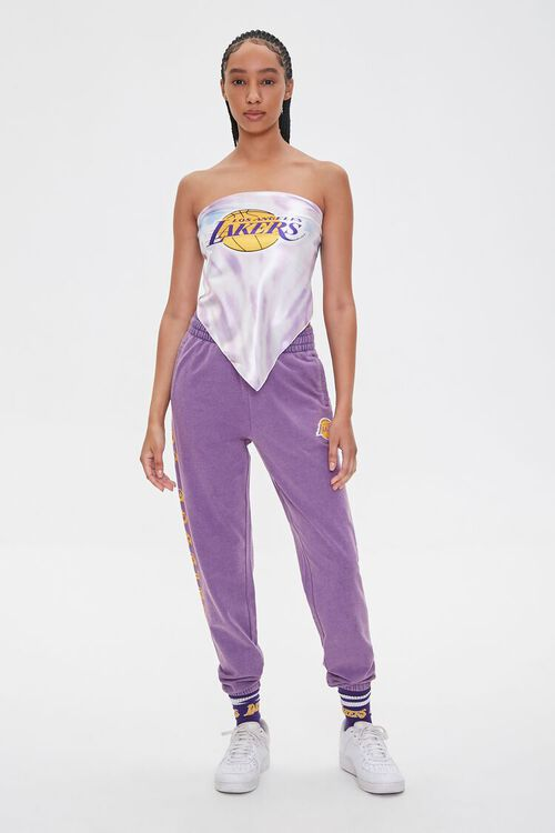 Lakers Graphic Scarf Top, image 4