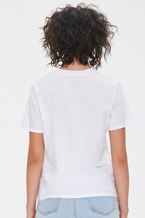 WHITE/MULTI Lucky Graphic Tee, image 3