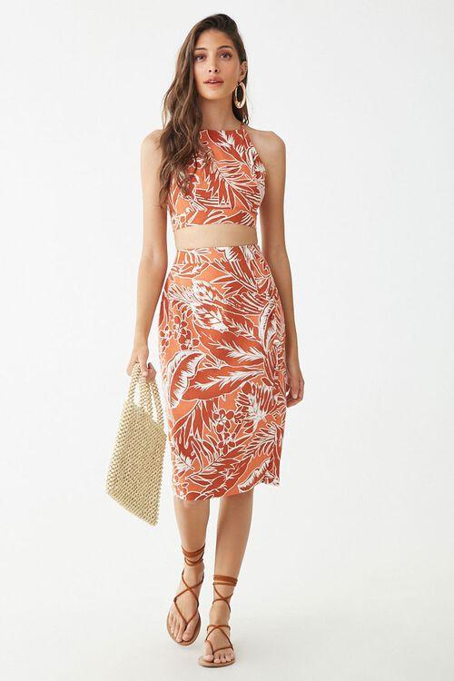 Tropical Print Skirt, image 5
