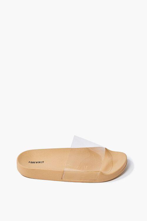 Semi-Transparent Slide Sandals, image 2