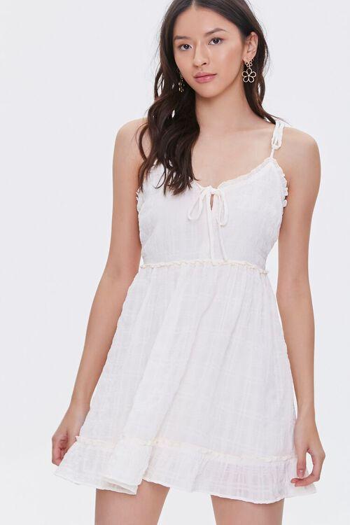 CREAM Ruffle-Trim Mini Dress, image 2