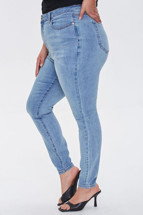 Plus Size High-Rise Skinny Jeans, image 3