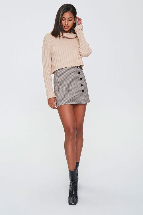 Plaid Mini Skirt, image 4