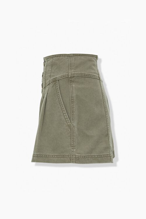OLIVE High-Rise Button-Up Shorts, image 2