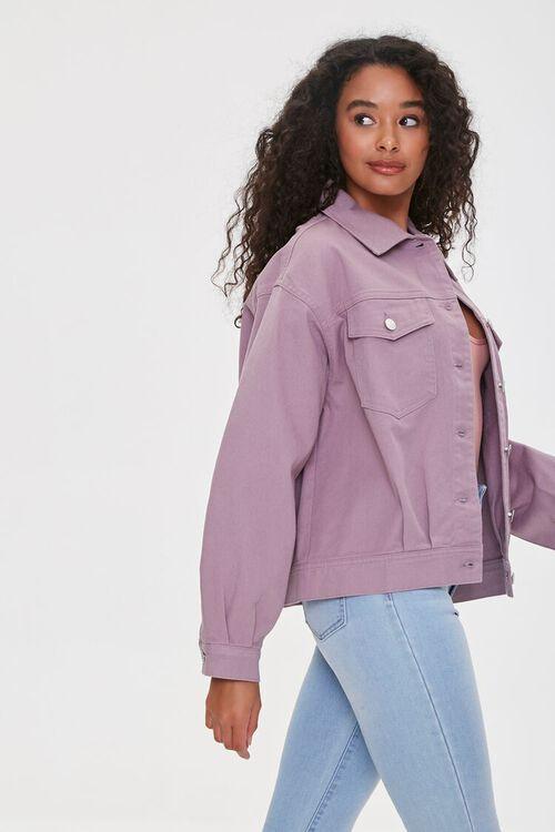Flap-Pocket Denim Jacket, image 2