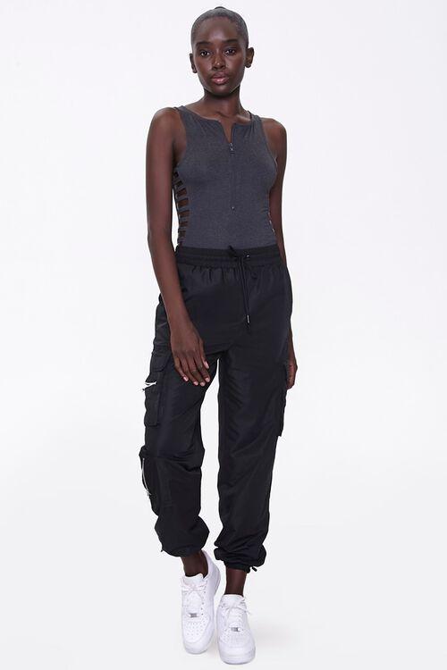 Active Caged Sleeveless Bodysuit, image 4