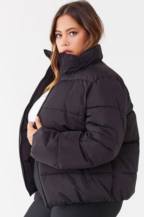 Plus Size Puffer Jacket, image 2