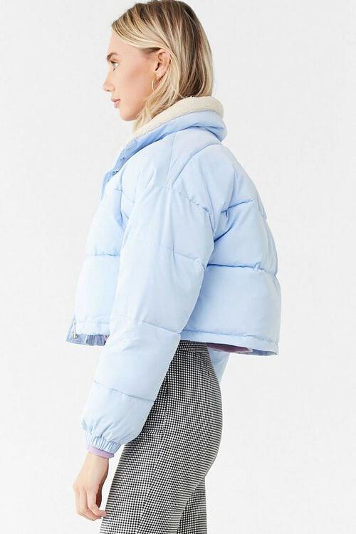 Faux Shearling-Trim Puffer Jacket, image 2