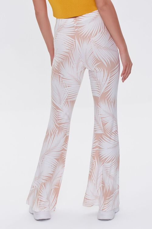 Jordyn Tropical Print Flare Pants, image 4