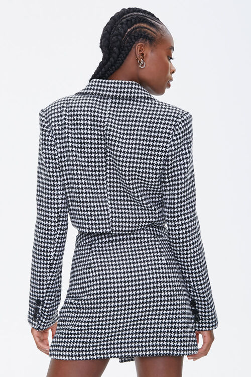 Houndstooth Double-Breasted Blazer, image 3