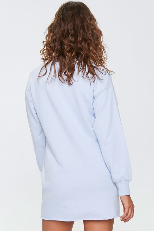 French Terry Sweatshirt Dress, image 3