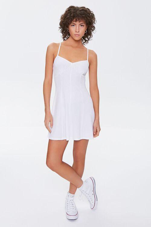 Skater Mini Cami Dress, image 4