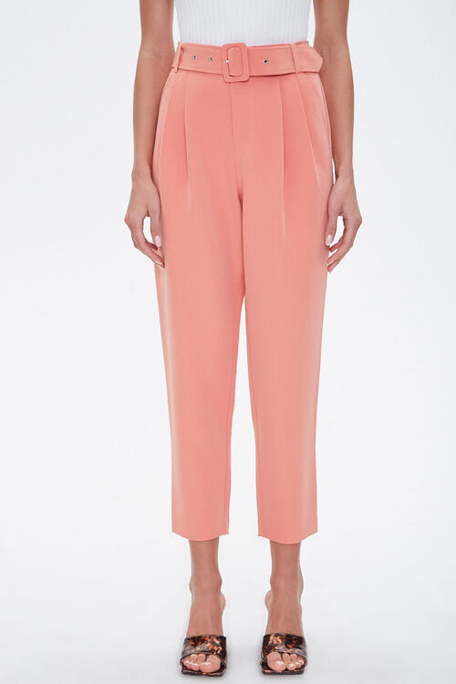 Belted Ankle Pants, image 2