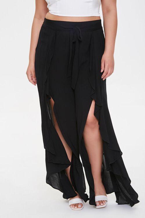 Plus Size Split-Leg Pants, image 2